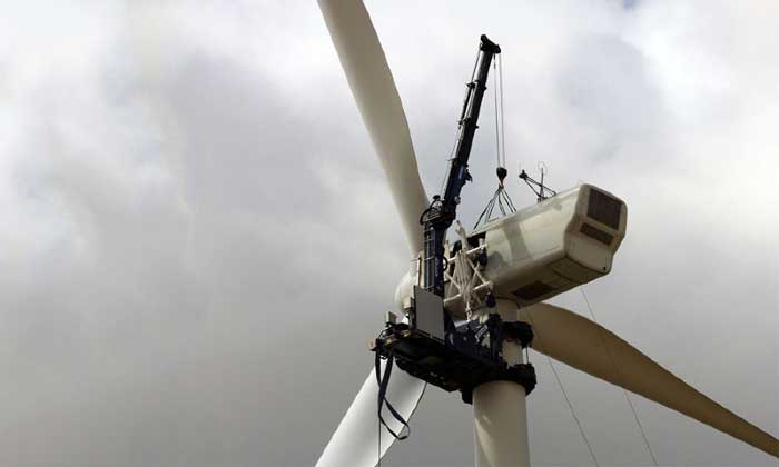 TICO wind turbine maintenance crane