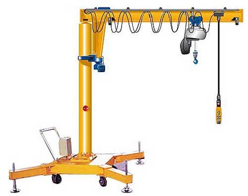 Jib Cranes Design : Jib crane service accordance with your demand