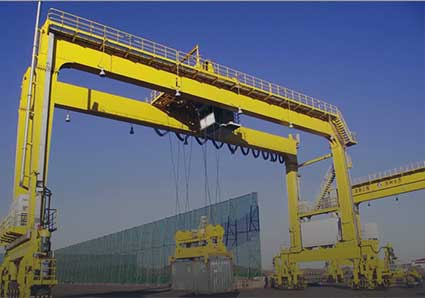 rubber tired gantry crane